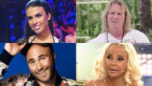 Algunos de los famosos que suman dos o más realitys en sus carreras profesionales dentro del mundo de la televisión.