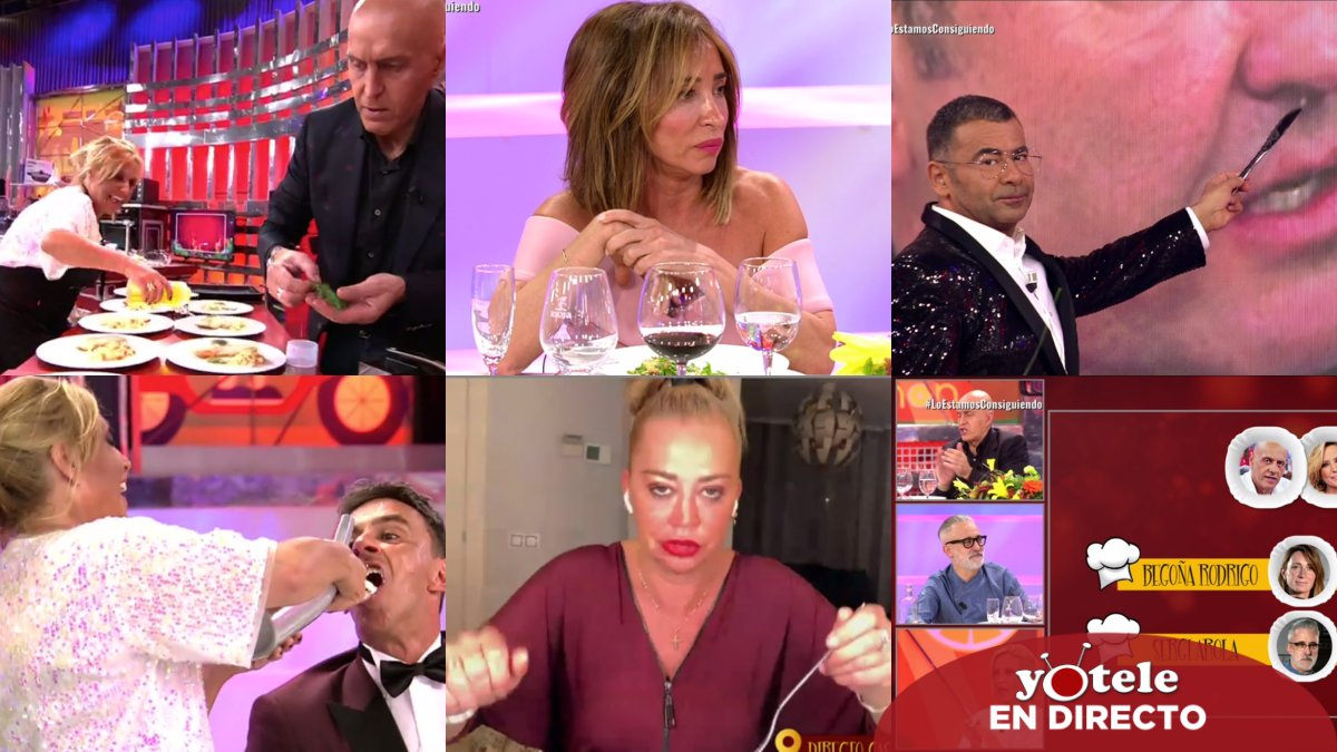 Algunos de los momentazos del estreno de 'La última cena' en Telecinco.