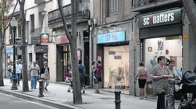 Los ejes comerciales de barrio funcionan pese a tener solo un 3,5% de tiendas clónicas