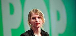 El analista transgénero Chelsea Manning.