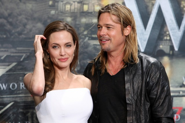 Angelina Jolie y Brad Pitt, en el estreno del filme 'World War Z', en junio del año pasado.