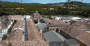 Antigua colonia textil L'Atmetlla de Merola, en el municipio de Puig-reig, hace un par de semanas.