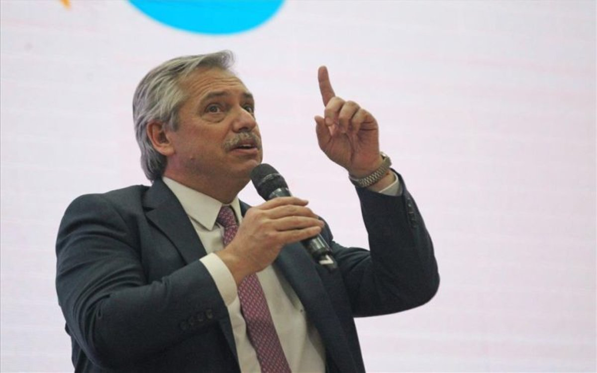 Alberto Fernández, candidato opositor a la presidencia de Argentina.