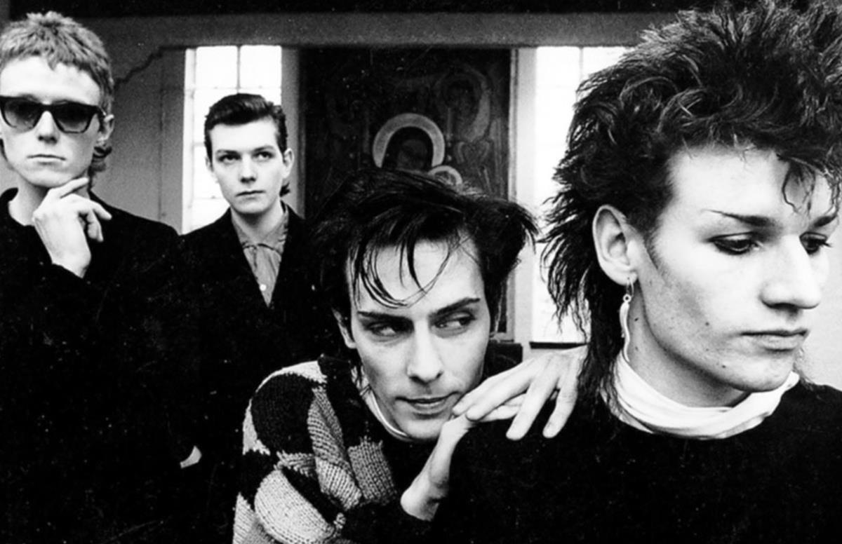 El grupo musical Bauhaus en una foto promocional