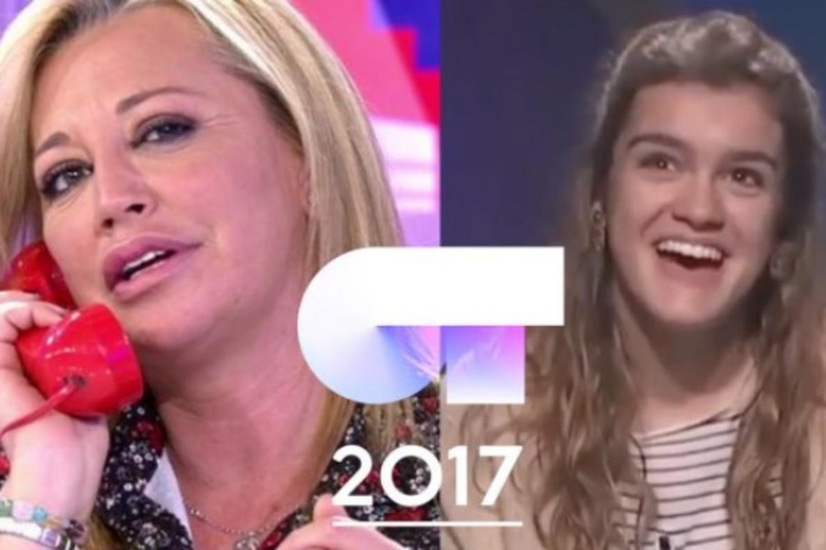 La hilarante 'llamada' entre Belén Esteban y Amaia de 'OT 2017'