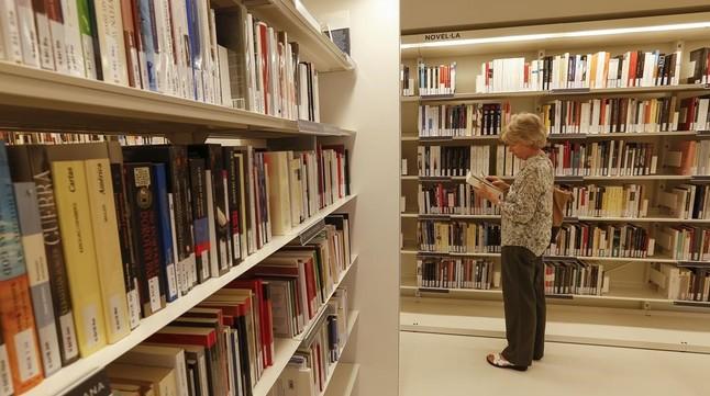 Biblioteca municipal Sant Gervasi-Joan Maragall.