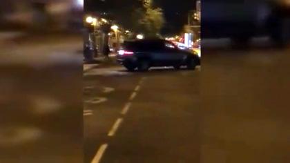 Vídeo del intento de atropello en la calle Princesa de Madrid.