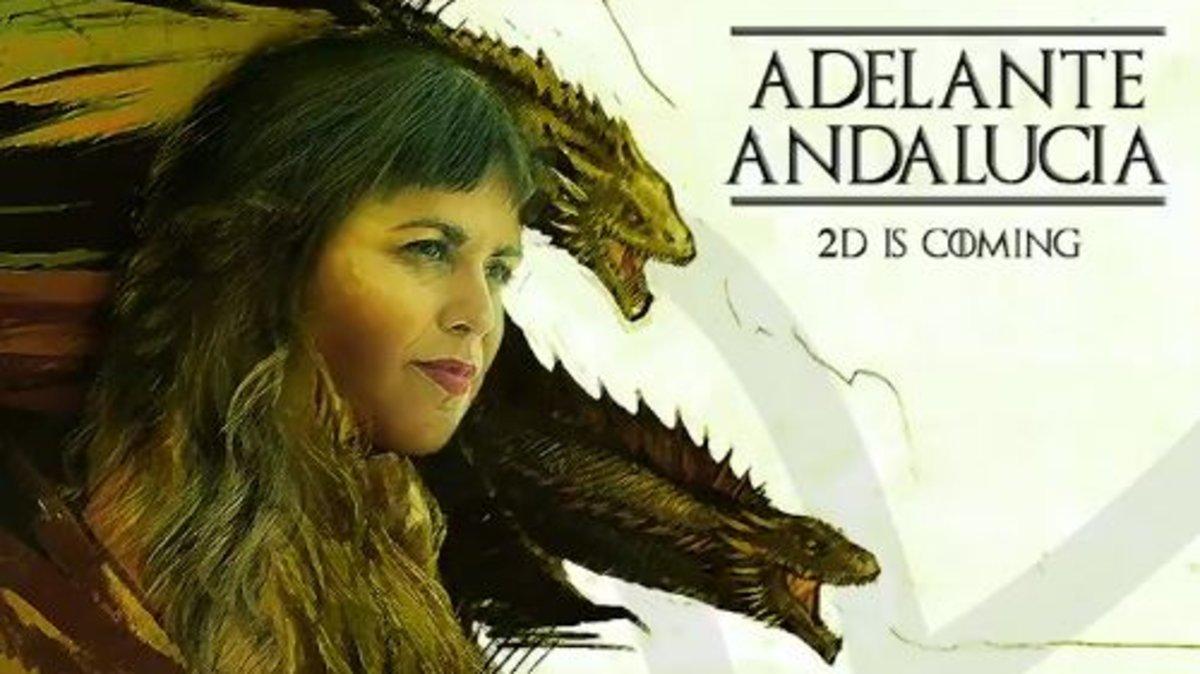 Campaña en Twitter de Adelante Andalucía.