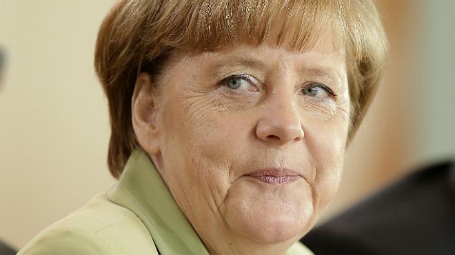 La canciller alemana, Angela Merkel, protagonizó este miércoles una serie de encuentros con ciudadanos.