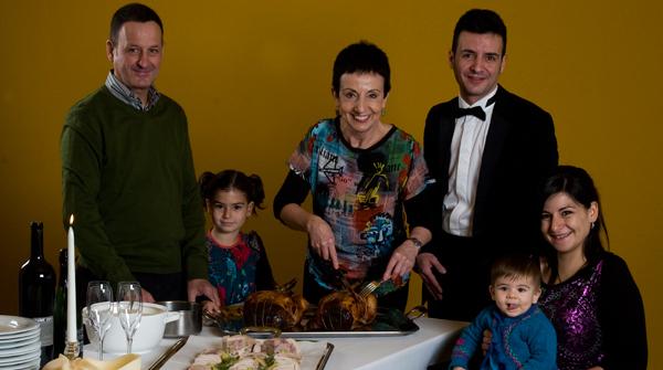 Carme Ruscalleda ofreció a EL PERIÓDICO una cena navideña con seis estrellas Michelin.