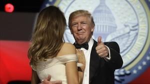 Estas son las mejores imágenes de la toma de posesión de Trump
