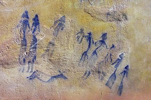 EL COGUL. Pinturas rupestres.