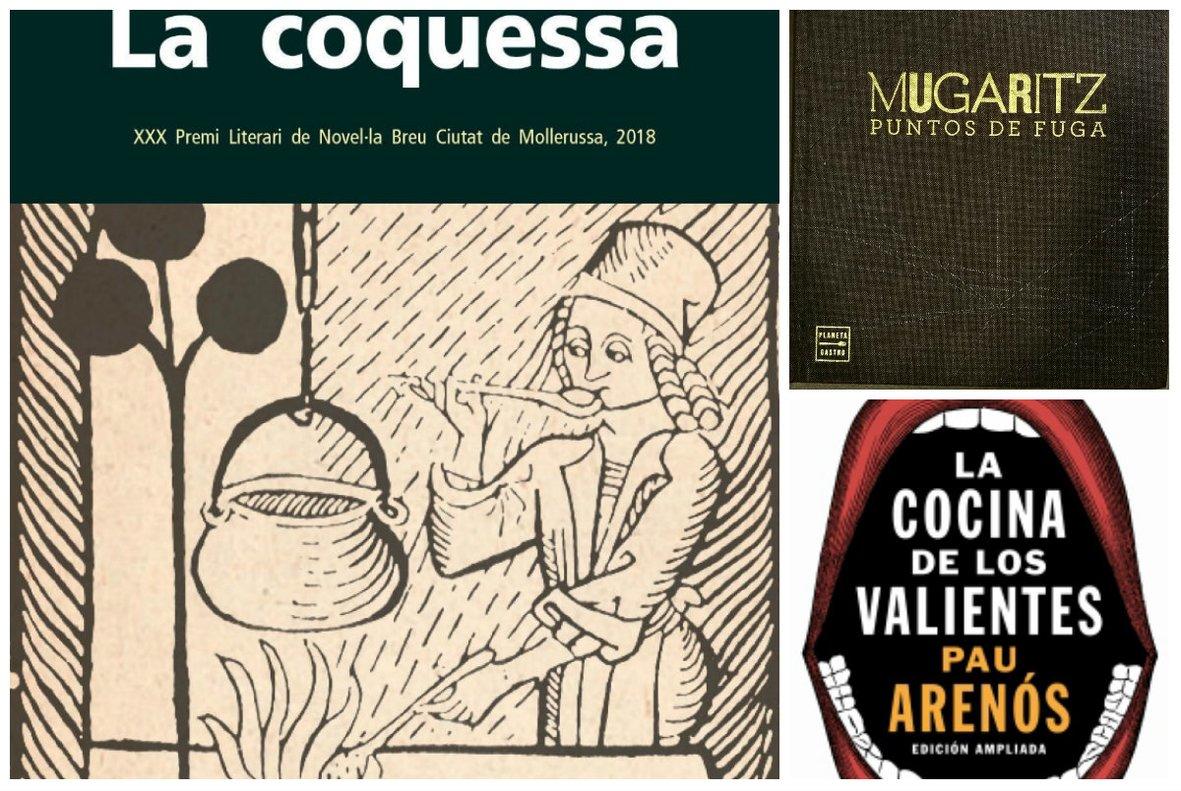 Gastronomía: 5 libros recomendados para Sant Jordi