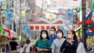 El coronavirus frena el nombre d'embarassos al Japó