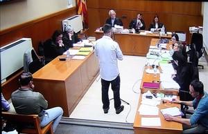 Declaración del cabode la Drago 403 durante el juicio por el caso Ester Quintana.