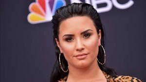 Demi Lovato en una aparición pública el pasado mes de mayo.