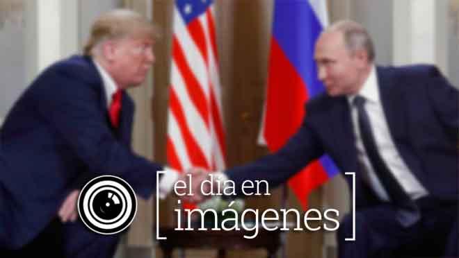 El día en imágenes, 16 de julio del 2018