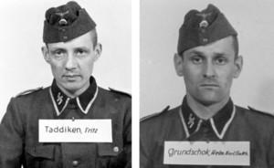 Dos de los miembros de las SS identificados en el informe.