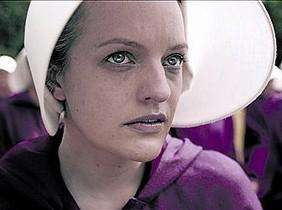 Elisabeth Moss, protagonista de 'Handmaid's Tale', de Hulu.