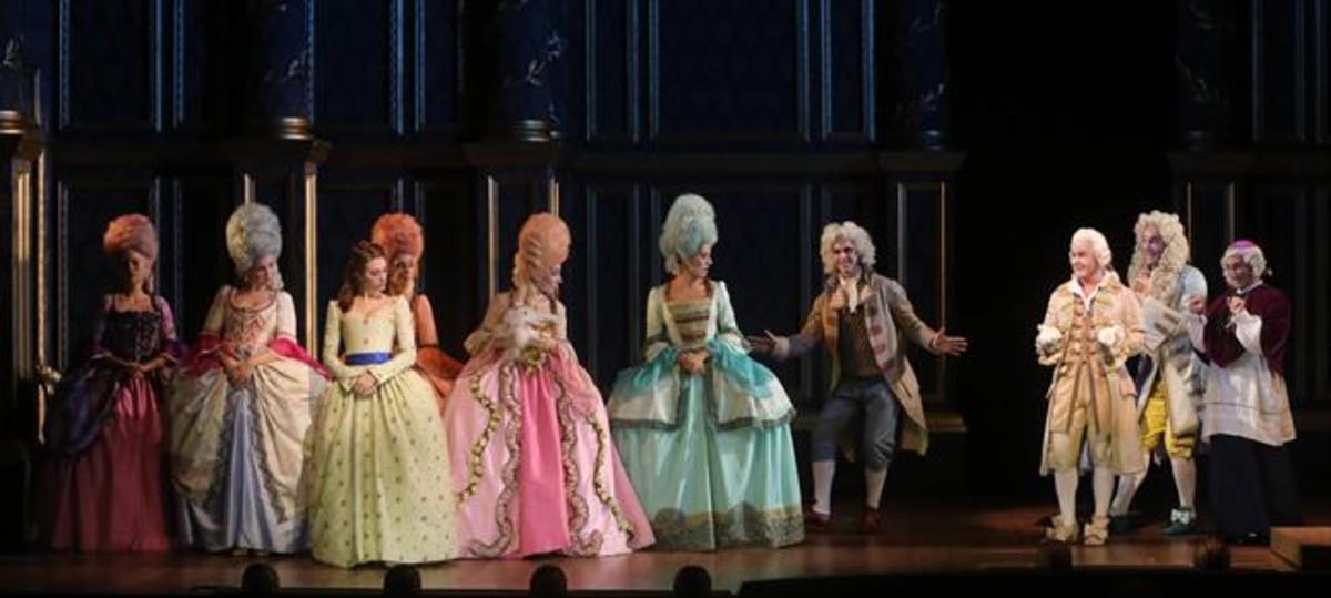 Ensayo de Scaramouche, el nuevo musical de Dagoll Dagom.