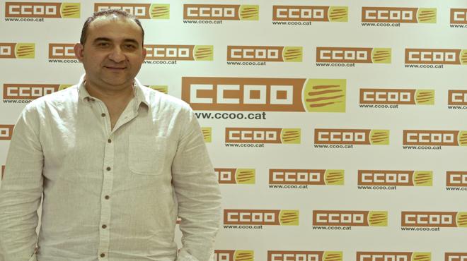 Javier Pacheco, futuro secretario general de CCOO de Catalunya