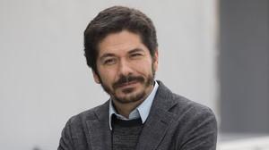 El escritor Juan Pablo Villalobos, en el 2016.
