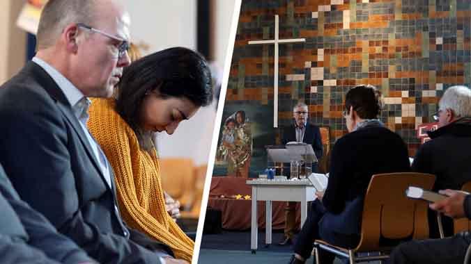 Esta iglesia lleva seis semanas haciendo misa non-stop para evitar la deportación de una familia armenia.