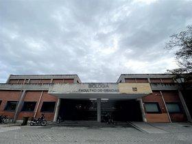 Fachada de la Facultad de Ciencias de la Universidad Autónoma de Madrid.
