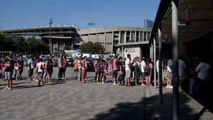 Operació contra la venda il·legal d'entrades del Barça dos dies abans del clàssic