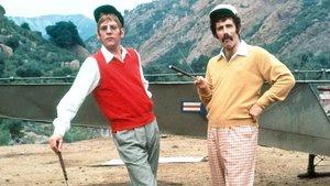 Donald Sutherland y Elliot Gould, en M.A.S.H., de Robert Altman.
