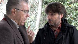Francisco Granados y Jordi Évole.