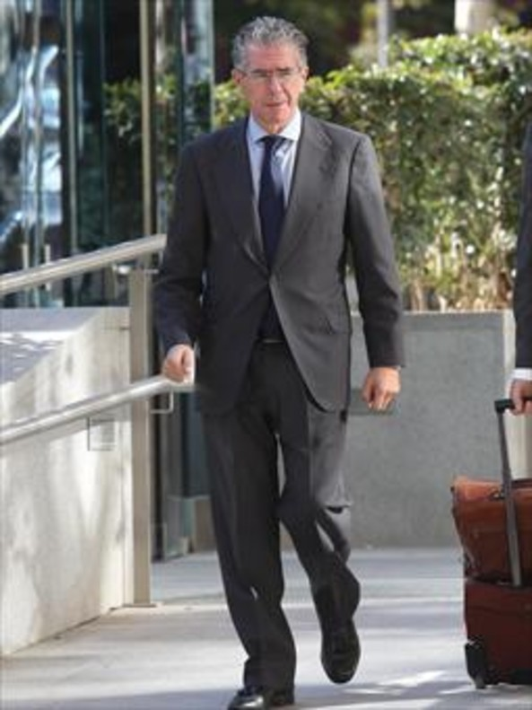 Francisco Granados, al salir de la Audiencia Nacional el pasado 14 de noviembre.