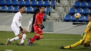 El gol de Ricard Fernández 'Cucu' ante Turquía.