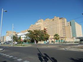 El Hospital Universitario Miguel Servet, de Zaragoza.