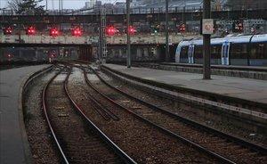 La estación de Saint Lazare hoy en París.