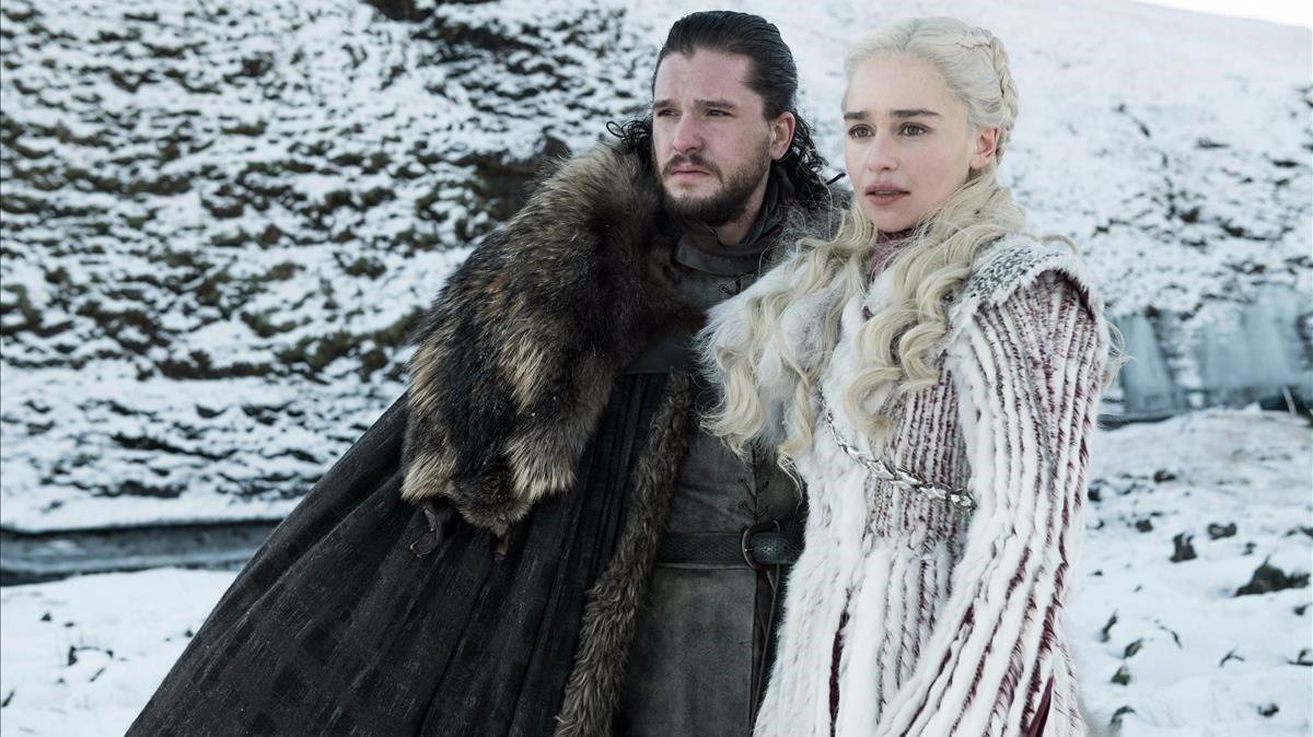 Una imagen de la última y muy esperada temporada de Juego de tronos.