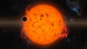 Ilustración delK2-33b, el exoplaneta descubierto.
