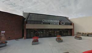 Imagen del centro comercial Crossroads Center de Minnesota en Google Maps.
