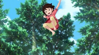 'Ronja, la hija del bandolero', la primera serie de Studio Ghibli