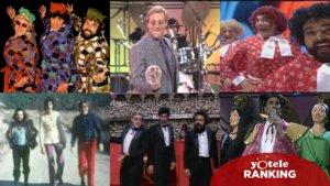 Imágenes de algunas de las actuaciones de La Trinca.