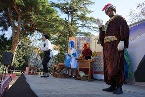 Interpretación de 'En Fanguet i els tres reis' en Esplugues de Llobregat.