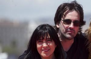 Isaki Lacuesta e Isa Campo, directores de La propera pell, en el festival de Málaga.