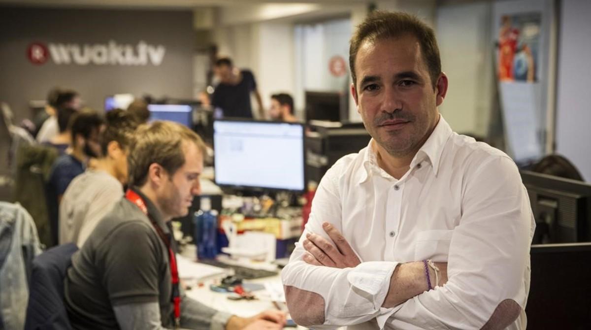Jacinto Roca, consejero delegado de Wuaki.tv.