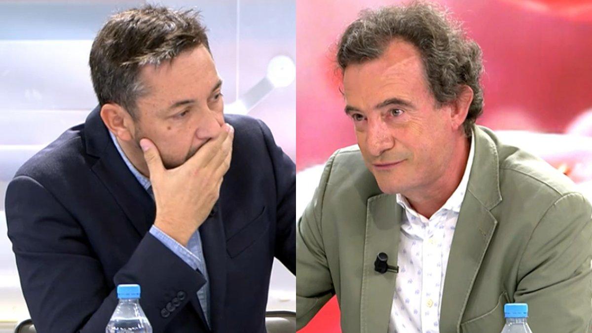 """Javier Ruiz estalla por las """"faltas de respeto"""" de Javier Gállego en 'Ya es mediodía': """"¡Basta ya!"""""""
