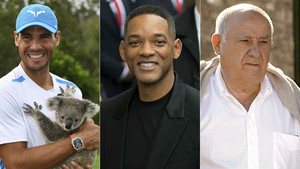 Rafa Nadal, Will Smith i Amancio Ortega, caps ideals per als espanyols
