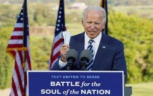 Joe Biden en un evento de campaña.