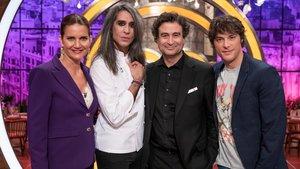 El jurado de 'Masterchef Celebrity' con Mario Vaquerizo.