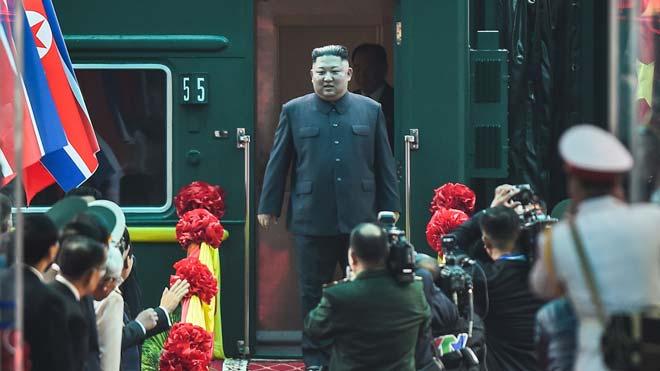 Kim Jong-un arriba al Vietnam per a la seva segona cimera amb Donald Trump