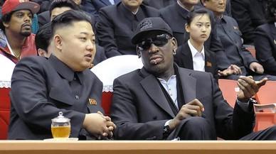 ¿Será el excéntrico Dennis Rodman quien presente a Trump a Kim Jong-un?