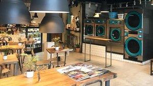 LaBar, el 'Laundry Bar' de Barcelona.